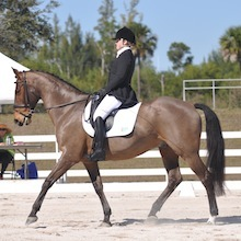 Charlotte Bathalon (Merle-Smith) and Sportsfield Twist by Lindsay Yosay McCall