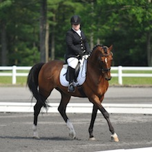 Eleanor Brimmer and Carino H at the 2012 USEF Para-Equestrian Dressage National Championship/ Paralympic Selection Trials