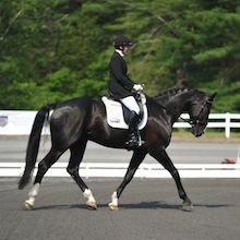 Erin Alberda and Sir Rocco at 2012 USEF Para-Equestrian Dressage National Championships/Paralympic Trials by Lindsay Yosay McCall