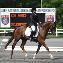 KimJones and Ghlenivet at 2012 USEF Para-Equestrian Dressage National Championship/ Paralympic Selection Trials by Lindsay Yosay McCall