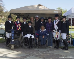 United States Para-Equestrian Dressage Riders in Del Mar, California at 2012 Dressage Affaire CPEDI3* by Lindsay Yosay McCall