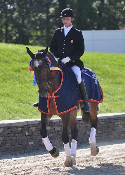 Jonathan Wentz 2011 USEF Para-Equestrian Dressage National Champion