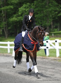 Rebecca Hart and Lord Ludger