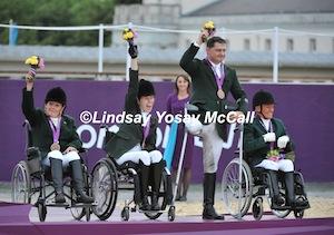 Irish Bronze Team photo (c) Lindsay McCall