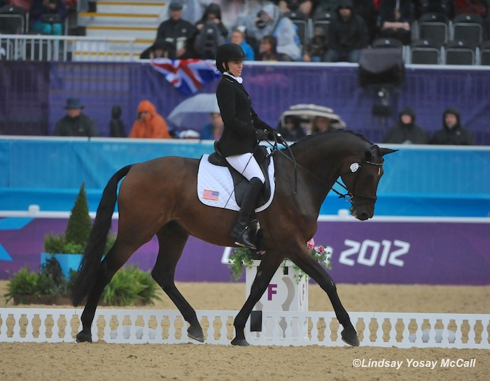 Rebecca Hart and Lord Ludger at 2012 Paralympics photo (c) Lindsay McCall
