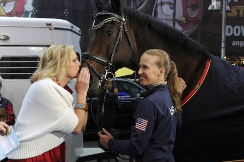ANN ROMNEY, LORD LUDGER, REBECCA HART Photo Credit: ABC/Ida Mae Astute