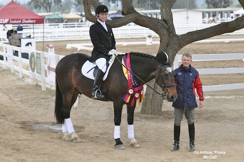Jonathan Wentz and Kai Handt at 2011 Dressage Affaire (C) Lindsay Yosay McCall