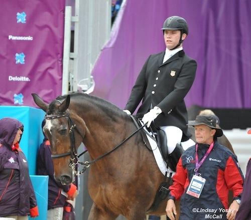 Jonathan Wentz and Kai Handt at 2012 Paralympics (C) Lindsay Yosay McCall